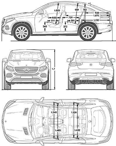 blueprints cars mercedes benz mercedes benz gle class 2015. Black Bedroom Furniture Sets. Home Design Ideas