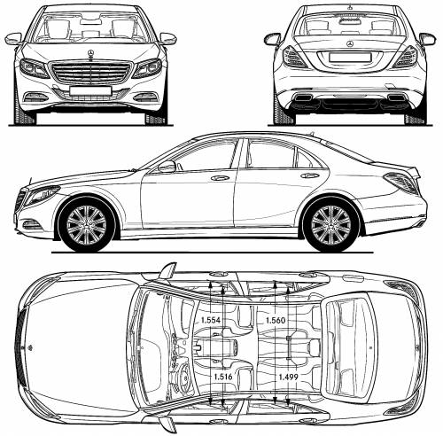 blueprints  u0026gt  cars  u0026gt  mercedes