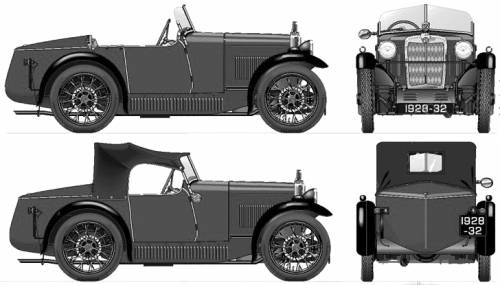 MG M type Midget (1930)