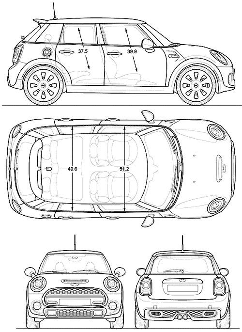 Mini Four Dimensions : vector requests mini cooper 4 door 2015 ~ Premium-room.com Idées de Décoration