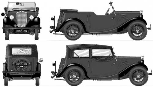 Morris 8 Tourer 4 Seater (1935)