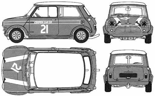 Morris Mini Cooper 1275 (1968)
