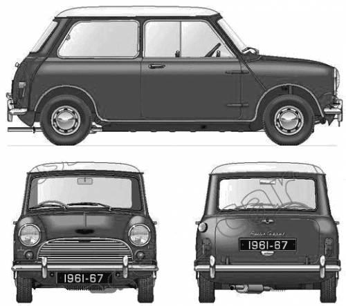 Morris Mini Cooper (1961)