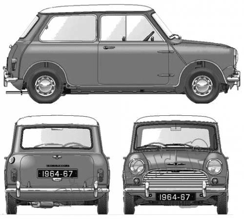 Morris Mini Cooper 998cc 1964-67