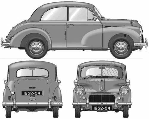 Morris Minor 2-Door S2 (1954)