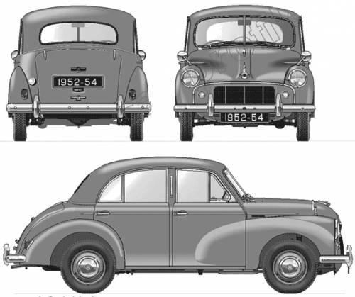 Morris Minor S2 4-Door Saloon 803 (1953)