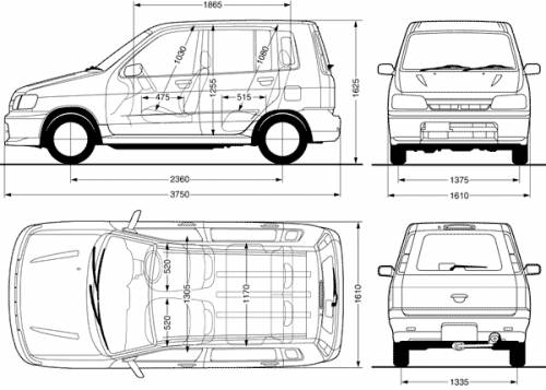 3d Blueprints Plans likewise Nissan cube  2000 in addition Audi Tt Engine Layout in addition Nissan Micra 5 Door 2001 additionally  on image 8 nissan juke dimensions 2