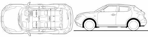 interior dimensions of nissan juke. Black Bedroom Furniture Sets. Home Design Ideas