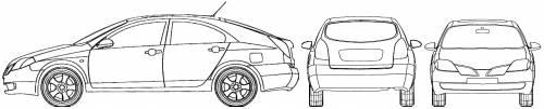 Nissan Primera 5-Door (2005)