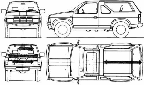 Nissan Terrano 2-Door (1987)