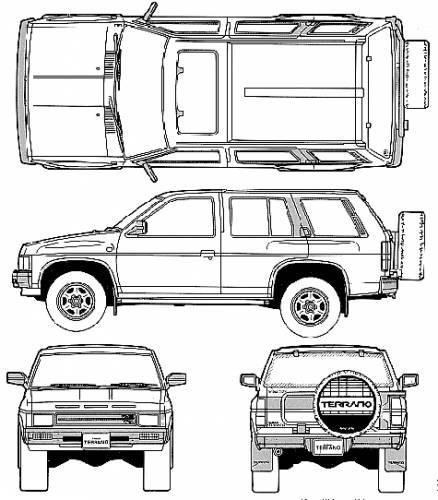 Nissan Terrano Pathfinder R3M (1991)