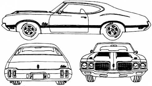 blueprints  u0026gt  cars  u0026gt  oldsmobile  u0026gt  oldsmobile cutlass 442