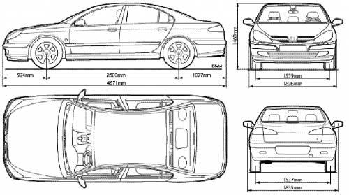The blueprints cars peugeot peugeot 607 for Chauffage interieur voiture