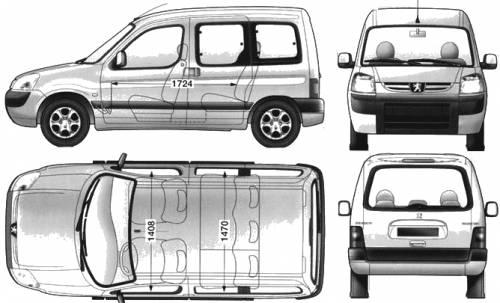 the-blueprints - blueprints > cars > peugeot > peugeot partner