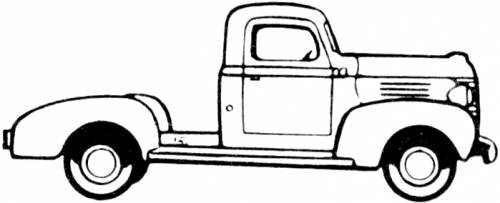 blueprints  u0026gt  cars  u0026gt  plymouth  u0026gt  plymouth six cab chassis  1941