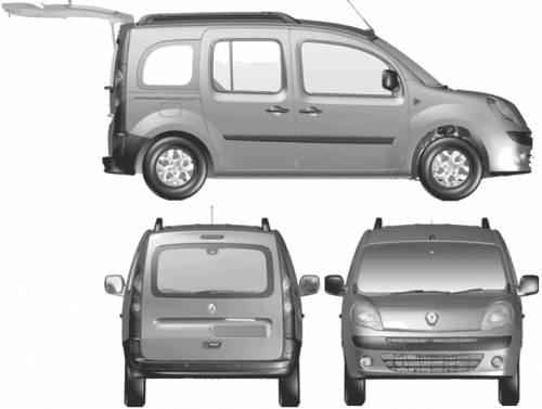 2008 Renault Kangoo. Renault Kangoo Break (2008)