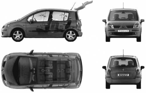 Renault Modus Boot. modus