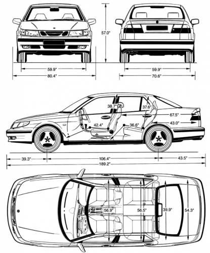 Saab 9 5 1998