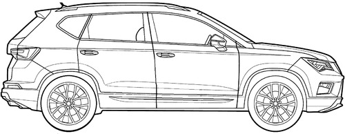 the blueprints cars seat seat ateca. Black Bedroom Furniture Sets. Home Design Ideas