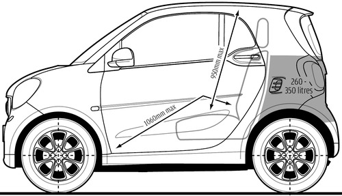 Blueprints cars smart smart fortwo 2015 smart fortwo 2015 malvernweather Image collections