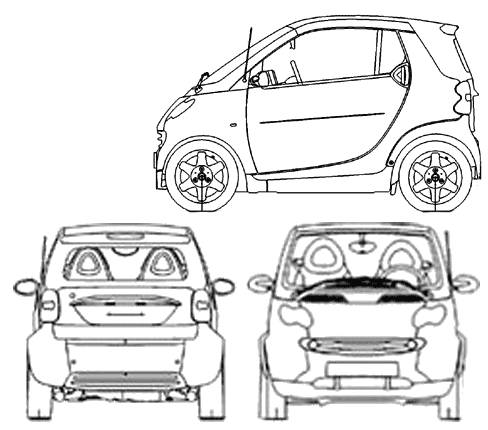 Car Silhouette On White Background 8239274 besides 3ibgf 200sx Will Not Crank Fuel Pump Will Not Activate in addition Smart fortwo coupe  2005 likewise Smart fortwo cabrio 2005 together with Most Loved Car Blueprints For 3d Modeling. on smart fortwo drawings