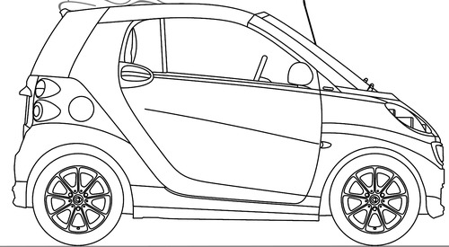 The blueprints blueprints cars smart smart fortwo smart fortwo cabrio 2014 malvernweather Image collections