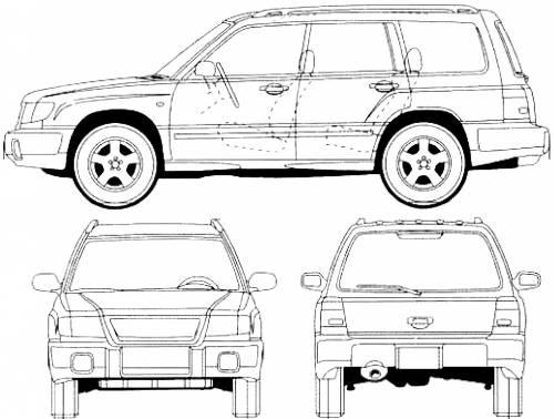 Vector Requests Subaru Forester 1997