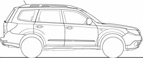 Subaru Forester (2008) .