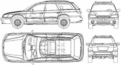 Subaru Outback Dimensions 2017