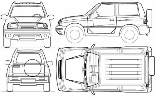 the blueprints cars suzuki suzuki grand vitara 3 door 2012. Black Bedroom Furniture Sets. Home Design Ideas