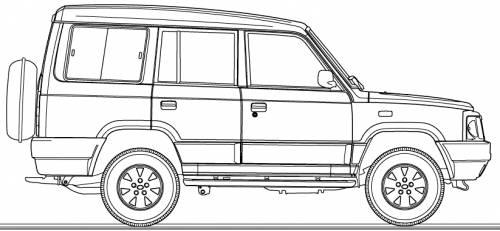 Blueprints cars tata tata sumo victa 2004 tata sumo victa 2004 malvernweather Choice Image