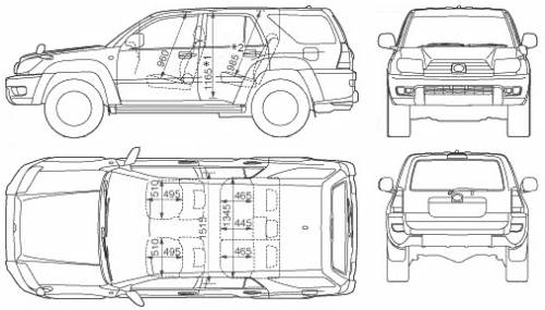 Which Is Bigger 4runner Or Highlander >> 2017 Toyota 4runner Interior Dimensions | www.indiepedia.org