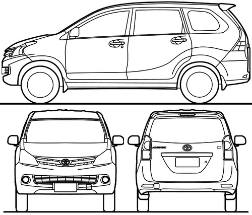 The blueprints blueprints cars toyota toyota avanza 2015 toyota avanza 2015 malvernweather Image collections