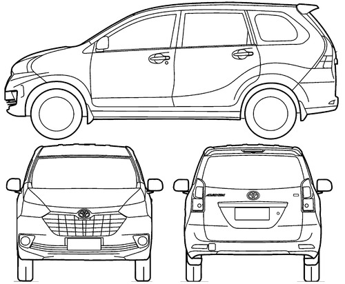 blueprints  u0026gt  cars  u0026gt  toyota  u0026gt  toyota avanza  2016