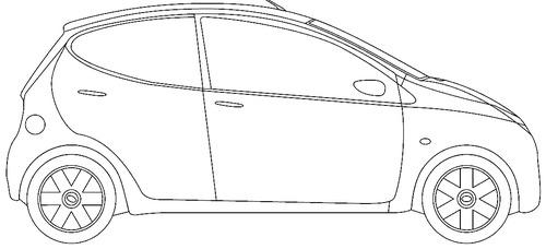 the blueprints cars toyota toyota aygo 2016. Black Bedroom Furniture Sets. Home Design Ideas