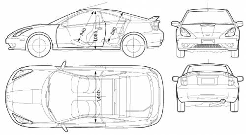 corolla coloring pages | Toyota Celica Coloring Coloring Pages