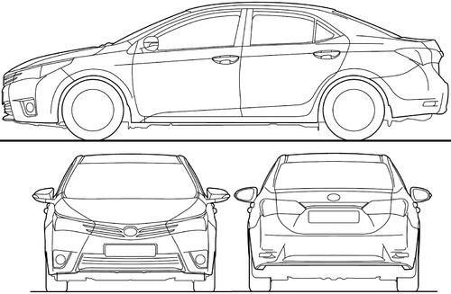 blueprints  u0026gt  cars  u0026gt  toyota  u0026gt  toyota corolla  2015