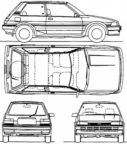 blueprints  u0026gt  cars  u0026gt  toyota  u0026gt  toyota corolla hatchback  1987