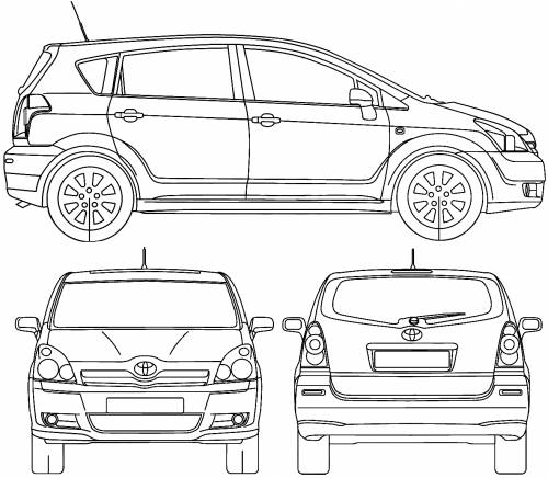 the-blueprints - blueprints > auto > toyota > toyota corolla