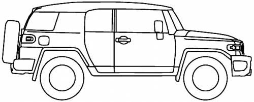 blueprints  u0026gt  cars  u0026gt  toyota  u0026gt  toyota fj cruiser au  2012