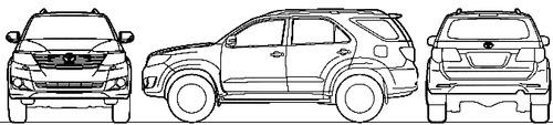 Toyota Fortuner (2013)