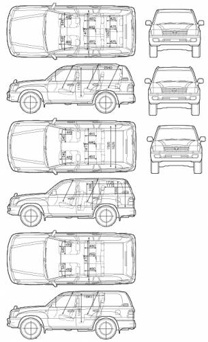 Toyota Landcruiser 2005. Toyota Land Cruiser 100VX