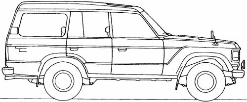 blueprints  u0026gt  cars  u0026gt  toyota  u0026gt  toyota land cruiser bj61v