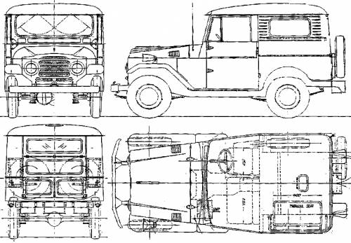 blueprints  u0026gt  cars  u0026gt  toyota  u0026gt  toyota land cruiser fj25ht  1959