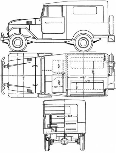 blueprints  u0026gt  cars  u0026gt  toyota  u0026gt  toyota land cruiser fj28  1955