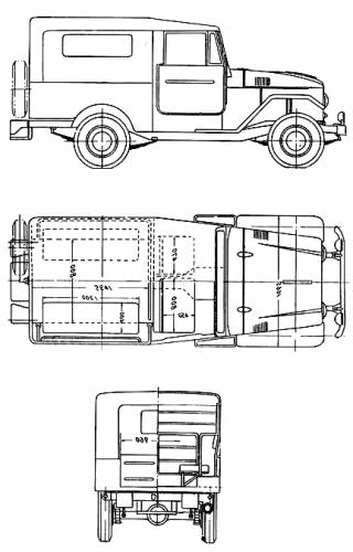 blueprints  u0026gt  cars  u0026gt  toyota  u0026gt  toyota land cruiser fj28kb  1955