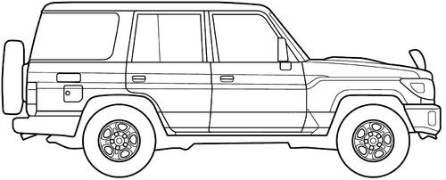 blueprints  u0026gt  cars  u0026gt  toyota  u0026gt  toyota landcruiser 70  2014