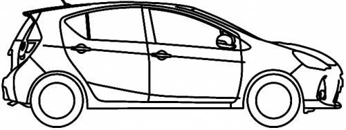 blueprints  u0026gt  cars  u0026gt  toyota  u0026gt  toyota prius c au  2012