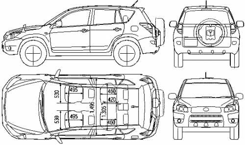 Toyota Rav4 Interior Dimensions Autos Post