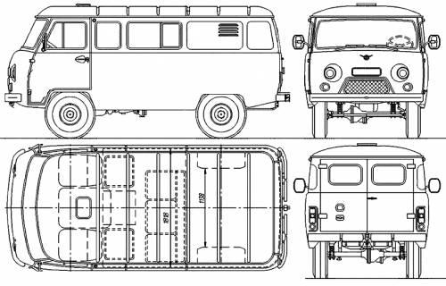 UAZ 3909